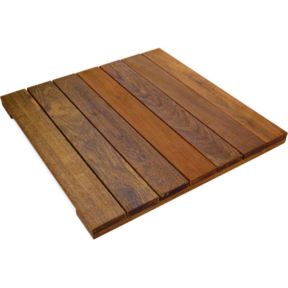 deck tiles solid hardwood deck tile in exotic ipe RTGQZCP