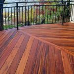 decking designs tigerwood deck, tropical decking advantage lumber
