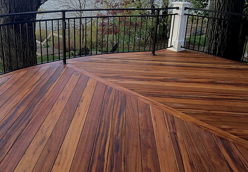 decking wood thorough profiles of all-plastic decking, wood-plastic composites, nonwood  composites, and aluminum WGFRTVC