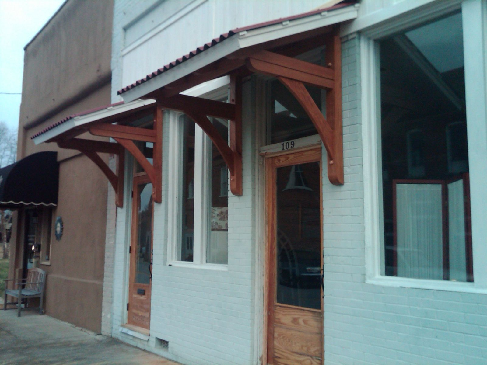 door awning wood front door awnings VOQUAKP