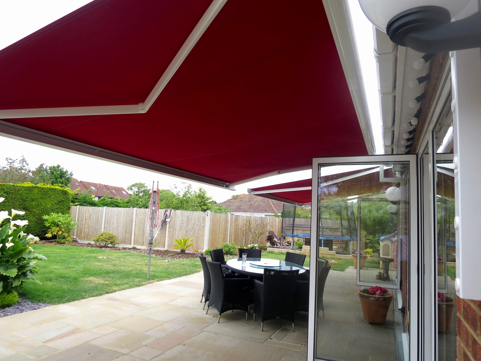 electric awning beautiful electric awnings fitted in porchester awningsouth HERVMVL