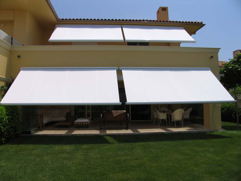 electric awnings retractable awnings WNRMJIY