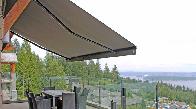 enjoy your outdoor living space with retractable awnings