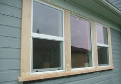 exterior window trim mural of outside window trim: classic finishing idea for perfect home plan BXSARUZ