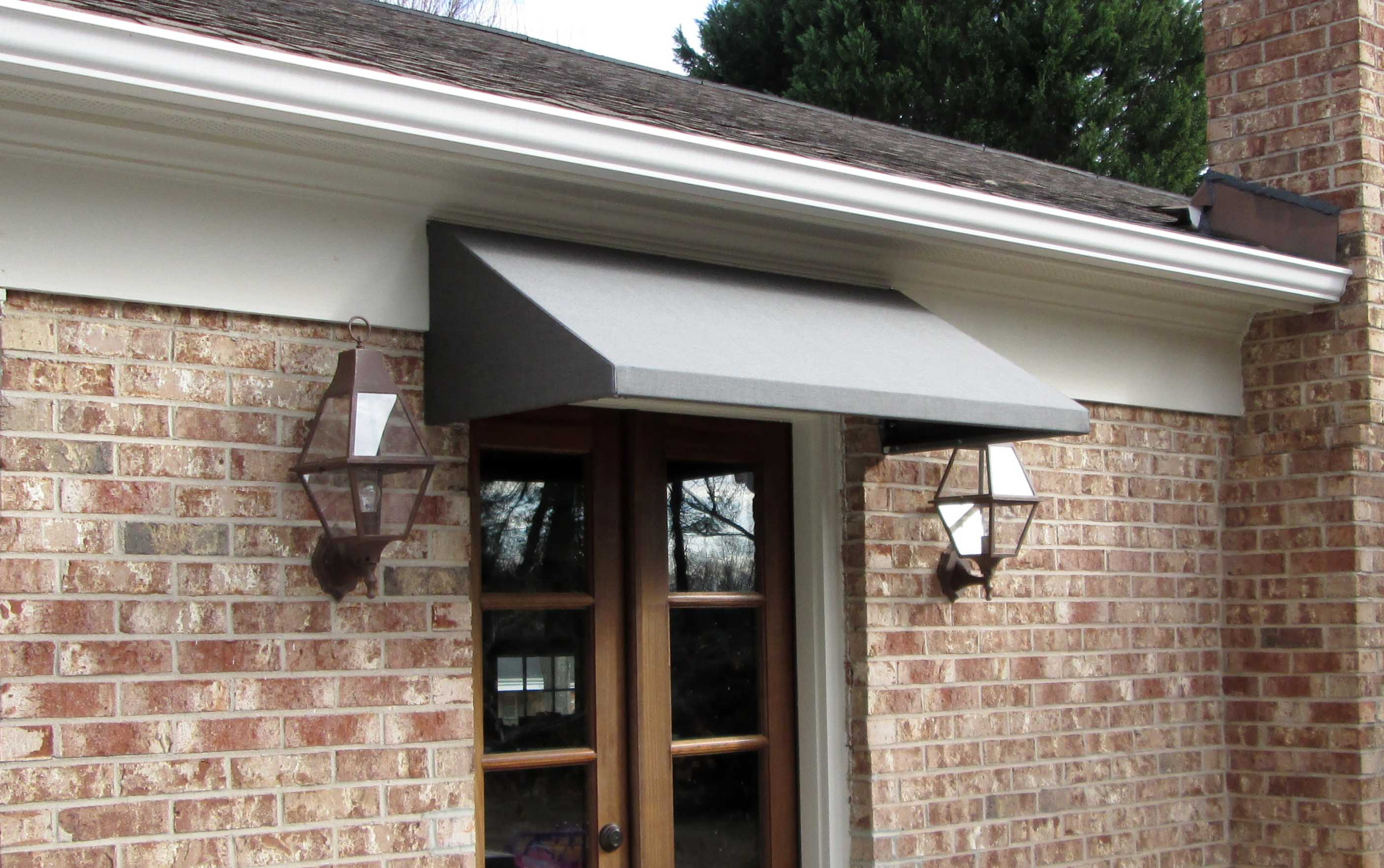 fabric door awning LSLCCHA