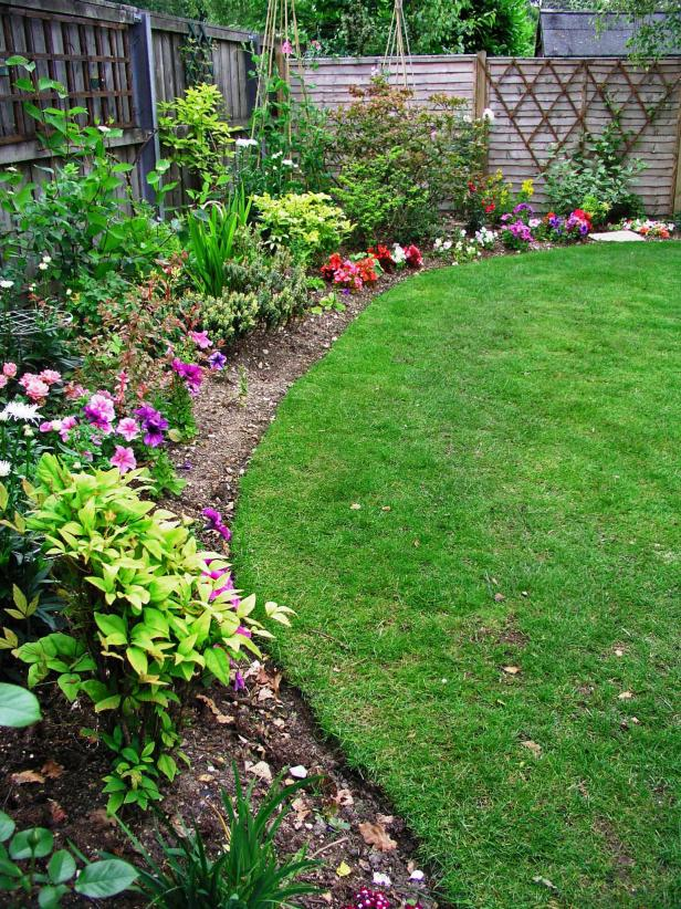 flower beds english edging ZDLPLPM