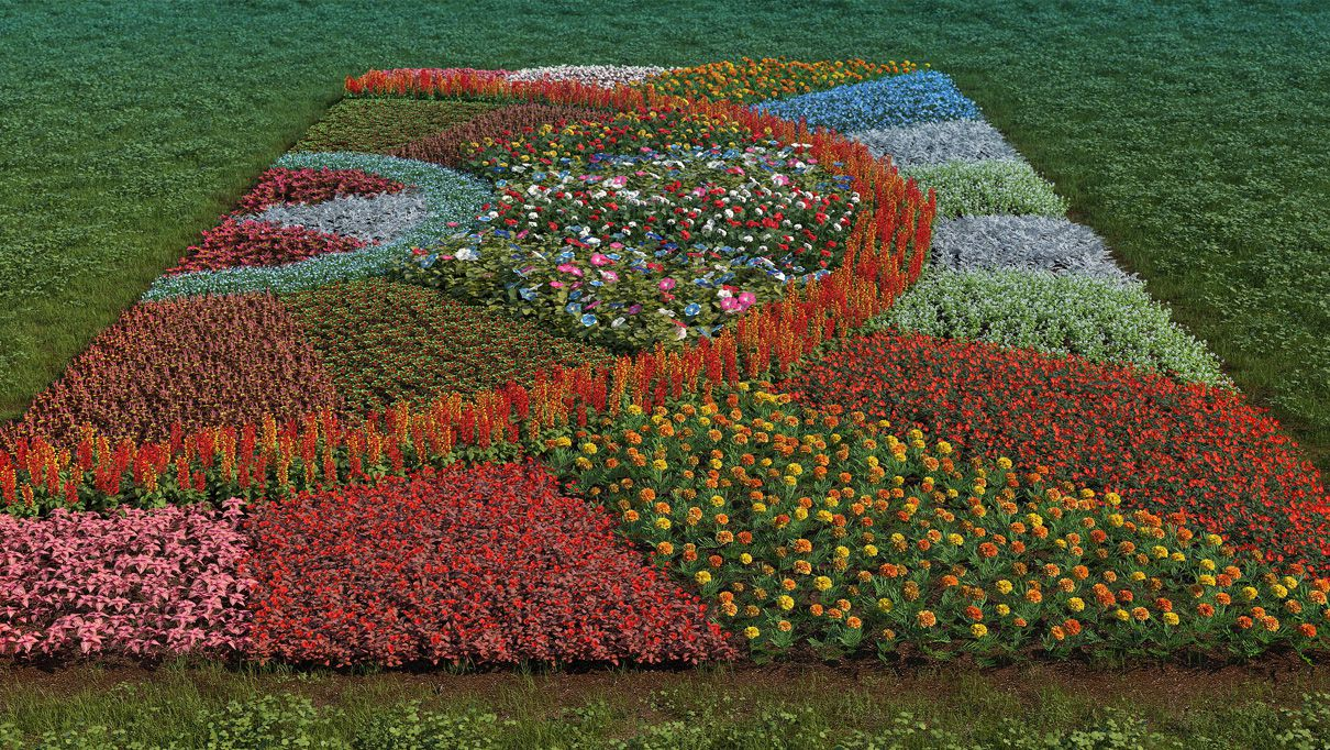 flower beds iflowers vol.3 flowerbeds TXPFIEJ