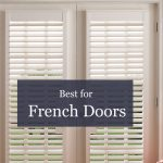 french door blinds best window treatments for french