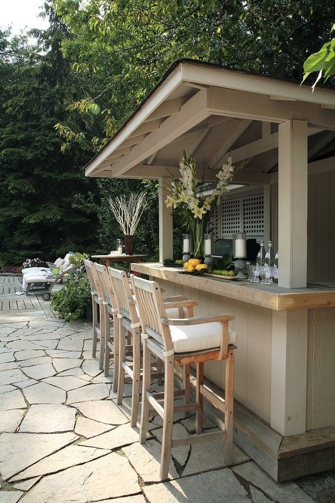 garden bar turn your shack into a mini backyard bar | backyard, bar and NKBQWZR
