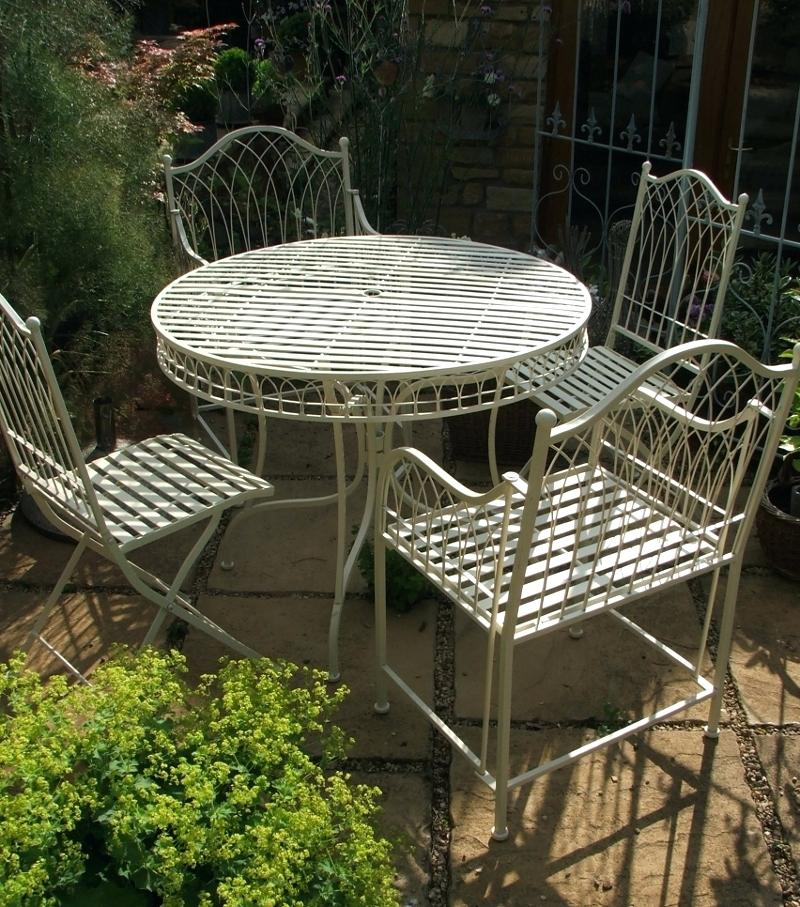 garden bistro sets garden bistro set large french ivory bistro set garden bistro furniture uk SQTGOZU