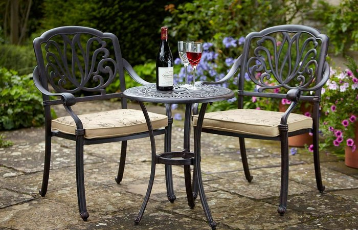garden bistro sets ... modern patio and furniture medium size garden bistro table and chairs CVHLFCJ