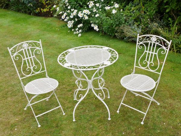 garden bistro sets white french style bistro set , - olive and sage, olive and QZHYWPH