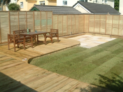 garden decking ideas ERDKSGQ