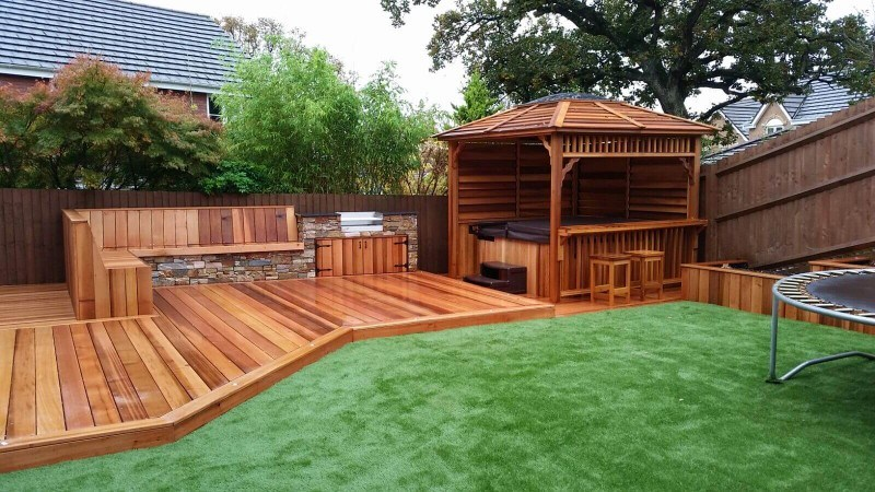 garden decking ideas garden decking decorating ideas VEOKBDS