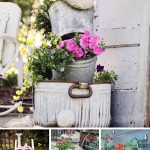 garden decoration ideas vintage garden decorations DHKQAJP