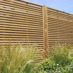 garden fence panels venetian fencing situated in a
