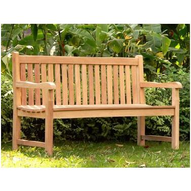 garden seat outdoor teak wooden garden bench seat in 3 sizes UDSHJOV