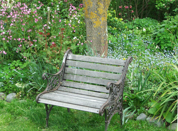 garden seat supersized garden seats NUSKHLQ