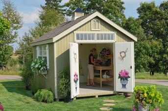 garden shed kits colonial williamsburg wood shed (with