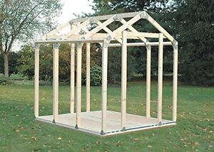 garden shed kits image is loading shed-kit-steel-connectors-building-storage-sheds-kits- BXSKIOS