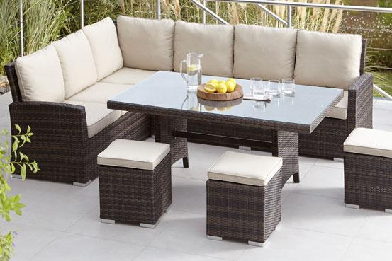 garden sofas outdoor dining tables and chairs EWSEXOB