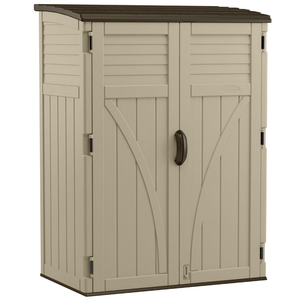 garden storage 2 ft. 8 in. x 4 ft. 5 in. x 6 ft IQJJHVG