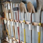 garden tool storage pvc pipe storage for your