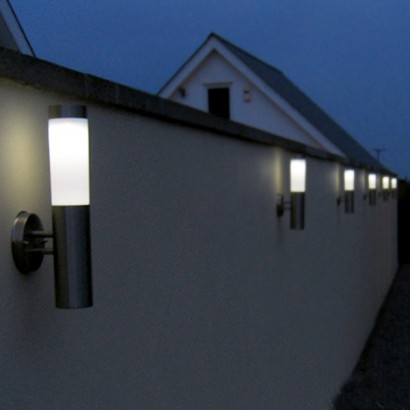 garden wall lights cast a warm white glow into your garden or illuminate your house VHMQMFE