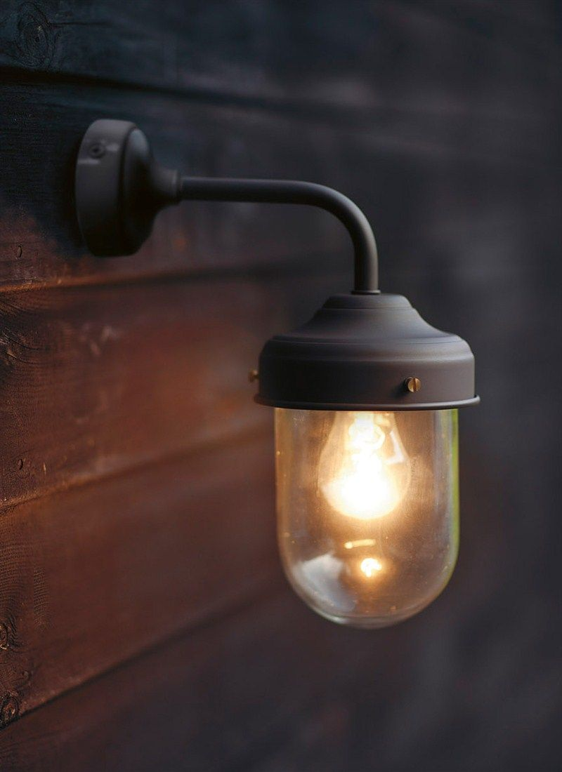 garden wall lights coffee bean barn lamp is a stylish, durable outdoor garden wall light, UXBQRDR