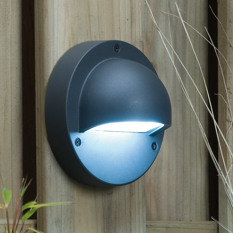 garden wall lights techmar plug and play - deimos white led garden wall light KMAXKFC