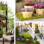 gardening ideas: vertical planter, container gardens, and landscape