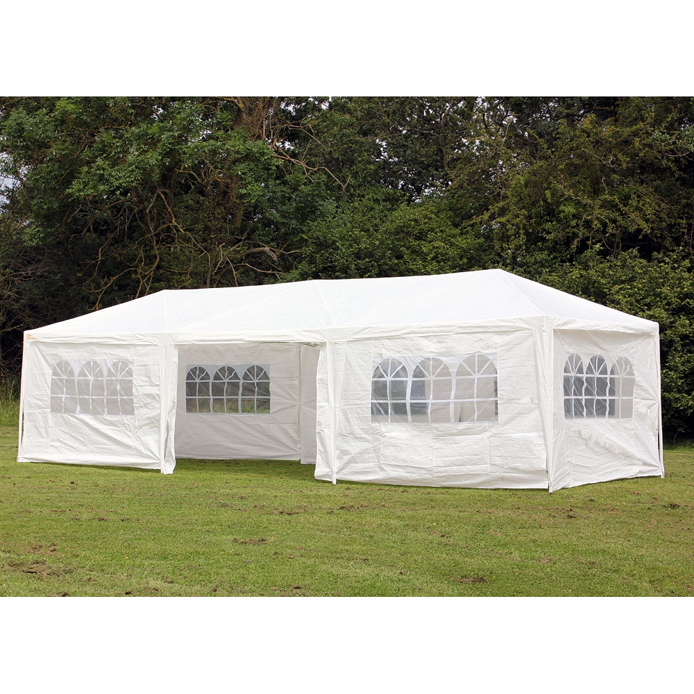gazebo tent palm springs 10u0027 x 30u0027 party tent wedding canopy gazebo pavilion w/side MAQOIBH