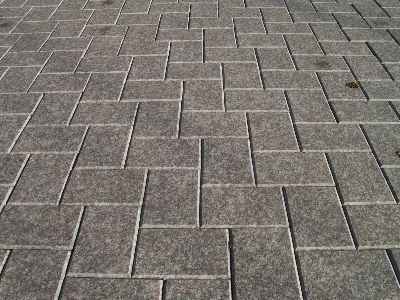 granite pavers red granite paver holland driveway.jpg DBFGXDS