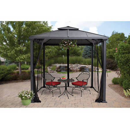 hard top gazebo better homes and gardens sullivan ridge 8 ft. hard top outdoor gazebo AUCWOPE