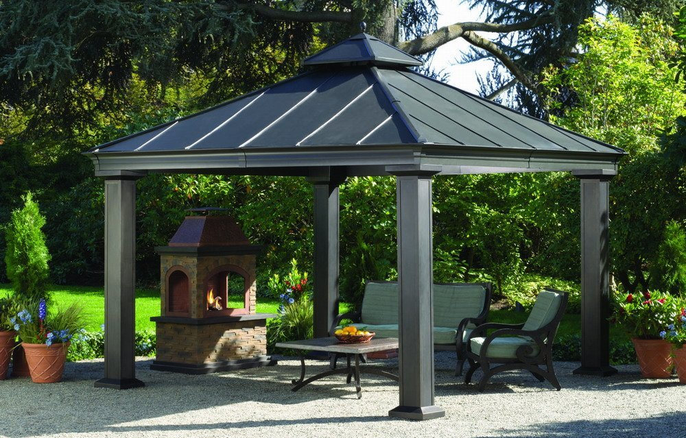 hard top gazebo hardtop gazebos: best 2018 choices, sorted by size BQZIOTV