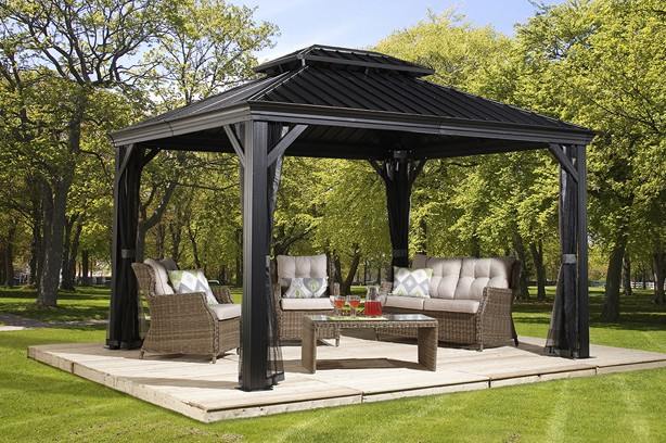 hard top gazebo messina ZUSLCIG