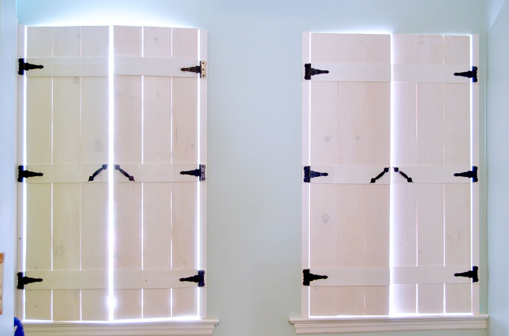 how to make indoor shutters - create and