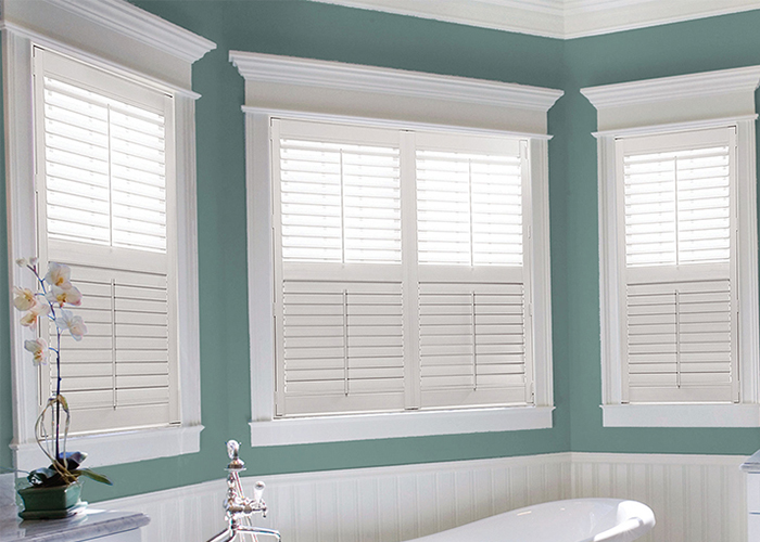 indoor shutters product name:primed interior pvc shutter in louver XLFUUTE