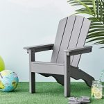 kids outdoor furniture charcoal adirondack chair RUSTMDF