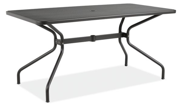 kona outdoor table - modern outdoor dining u0026