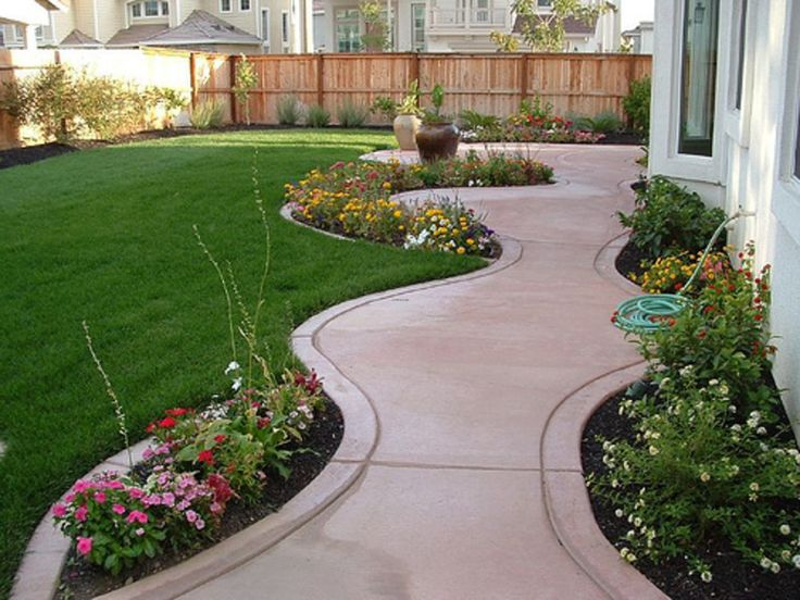 landscape design ideas small backyard landscaping design ideas 5 JNJMGTZ