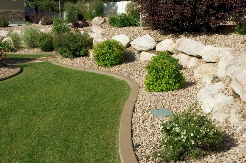 landscape edging ideas regardless of which type is selected, the edging adds definition and LRJESSC