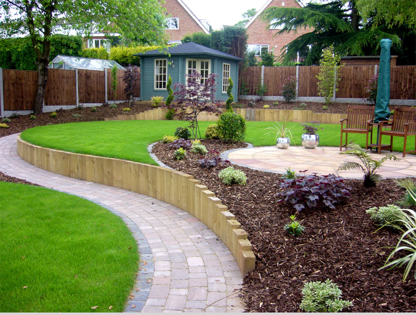 landscape garden design west midlands DLVHFBE