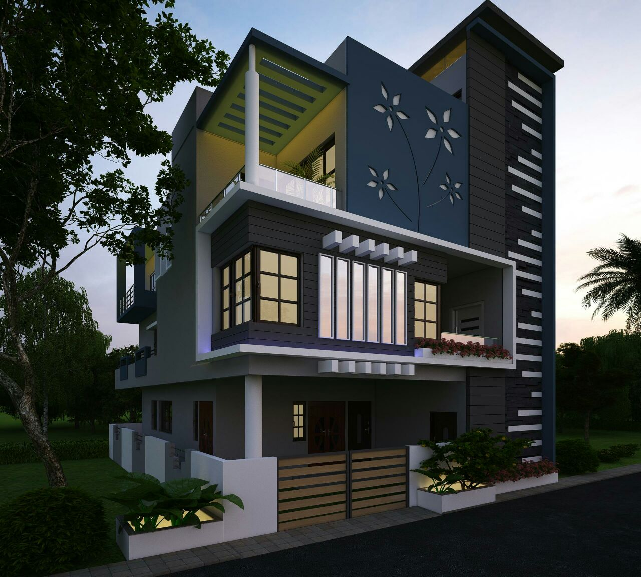 latest house elevation designs -2016 TXXMOVR
