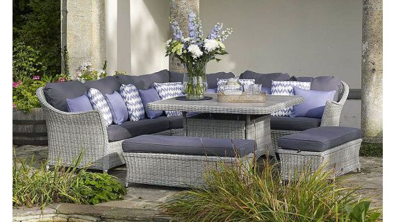 luxury garden furniture for all weathers. LPKUBHX