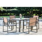 metal outdoor furniture darcie 5 piece dining set