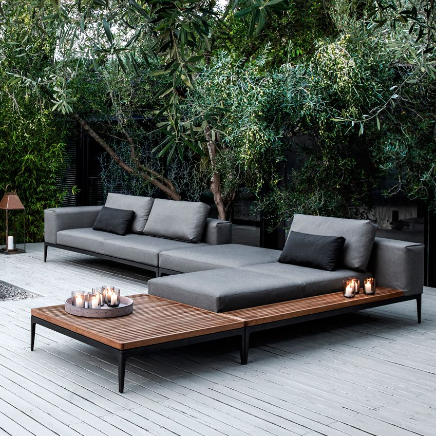 The process of adorning you home with modern patio furniture