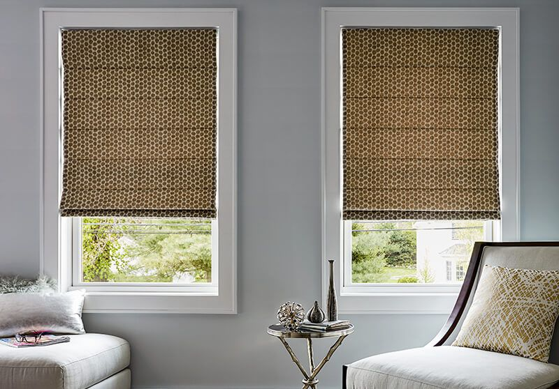 motorized blinds roman shades motorized option living room