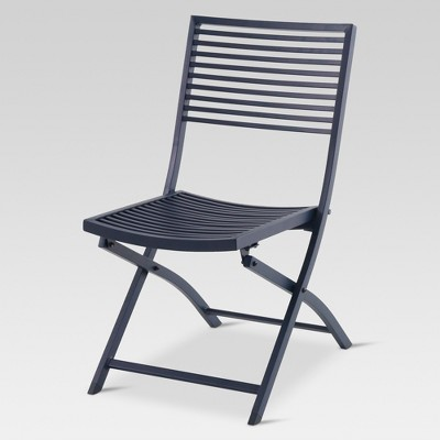 outdoor chair aluminum slat folding patio bistro chair - project 62™ : target WTKBKTC