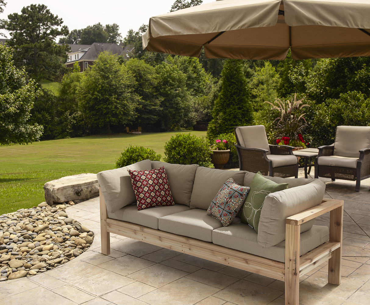 outdoor couch - ryobi nation projects OIRKXEJ